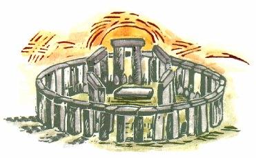 Les mégalithes de la région de Carnac Cercle