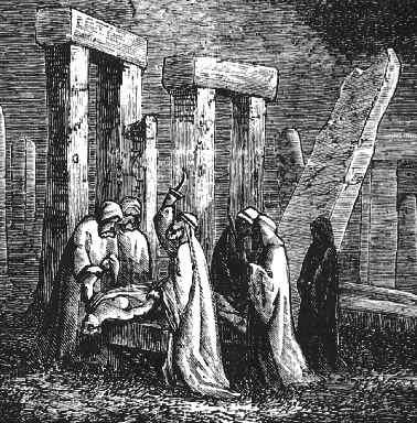 Les mégalithes de la région de Carnac Sacre
